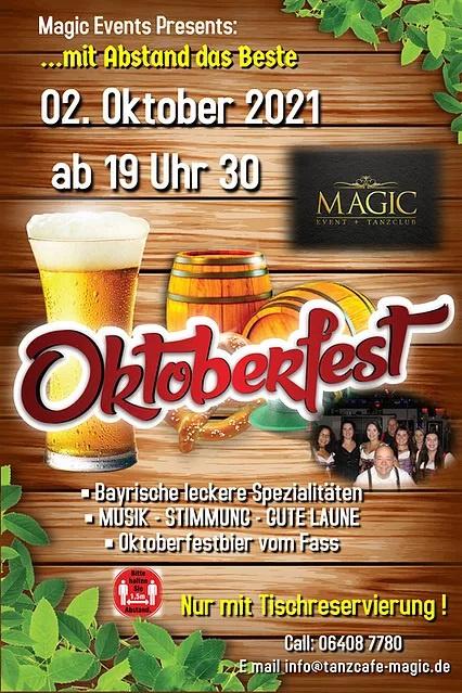 Oktoberfest m. Tanz & bayrischen Spezialitäten